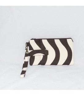 Phone Wristlet, Chocolate Waves