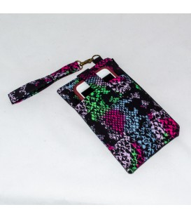 Phone Wristlet, Abstract Black