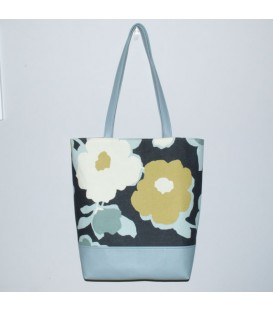 Book Tote, Top Floral