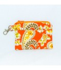 Zip N Clip, Orange Paisley