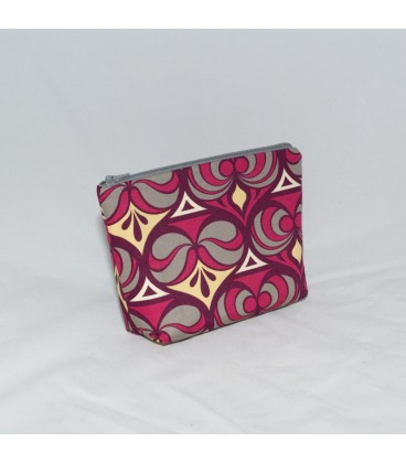 Essential Oil Pouch, Spade Damask