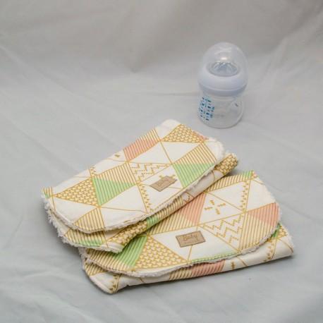 Burp cloth, Modern Tent (Set of 2)