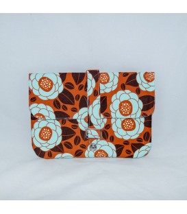 Jillian Tablet Case, Ginseng Bloom Rust