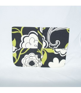 Jillian Tablet Case, Black Floral
