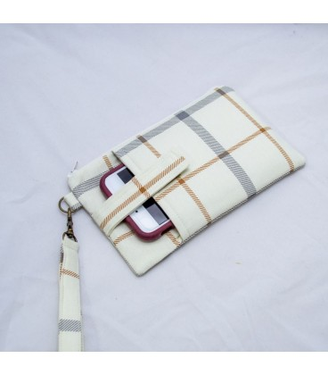 Phone Wristlet, Plaid
