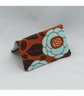 Card Case, Ginseng Bloom Rust
