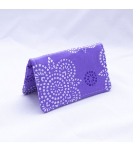 Card Case, Impressions Grape