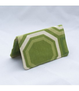 Card Case, Green Comb