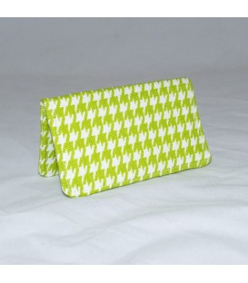 Card Case, Houndstooth