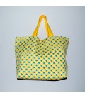 Everyday Tote, Yellow Print