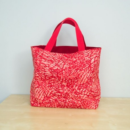 Everyday Tote, Patina Red