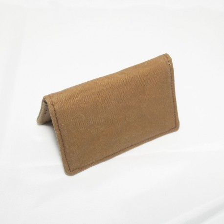 Card Case, Waxed Tan