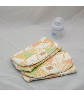 Burp cloth, Modern Tent (Set of 2)