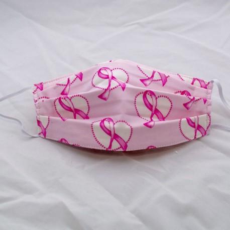Face Mask, Pink Ribbon